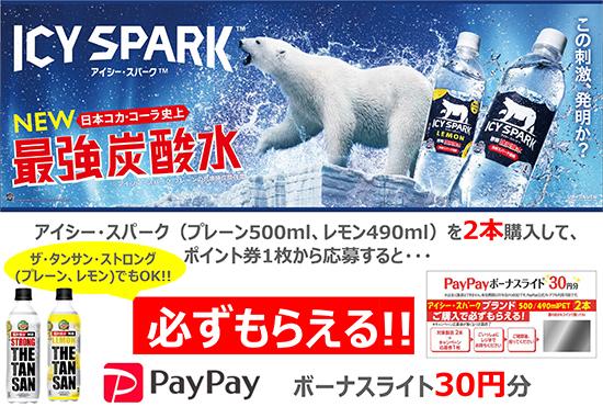 コカ・コーラ アイシー・スパークキャンペーン